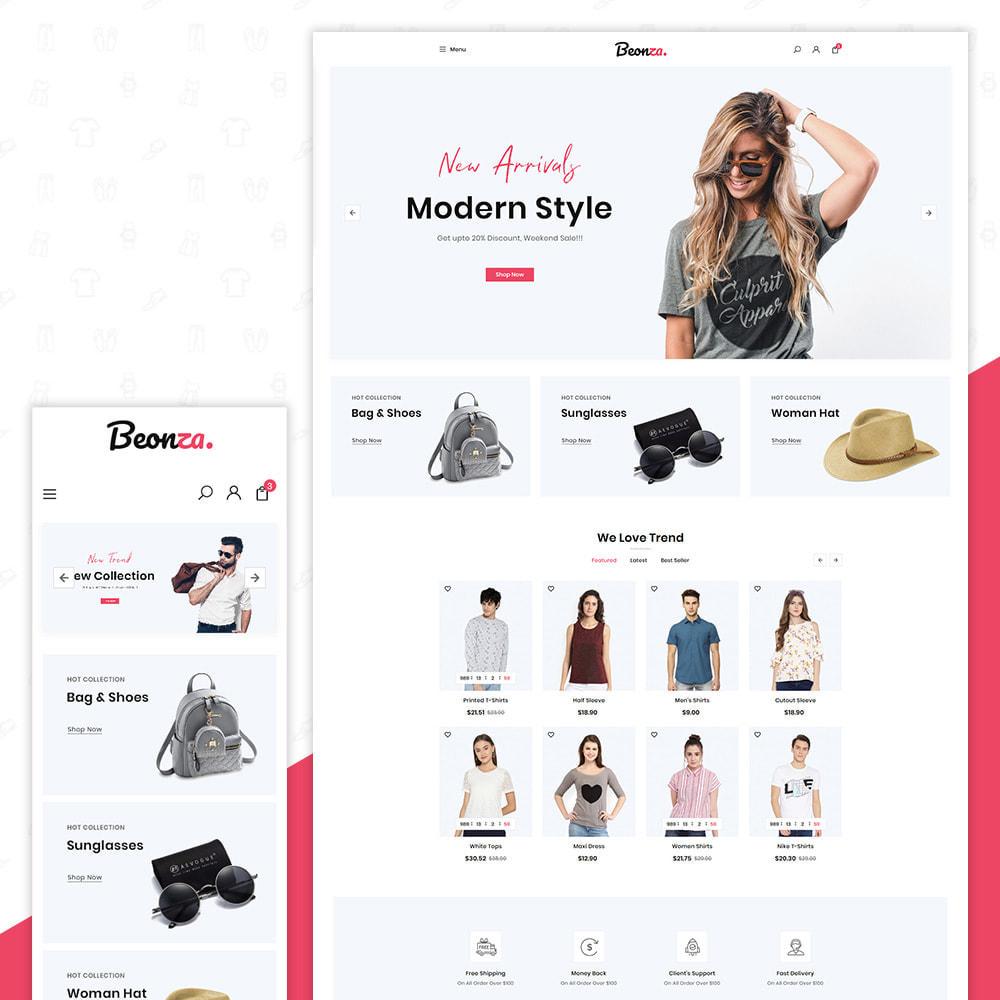 theme - Fashion & Shoes - Beonza Fashion Store - 1