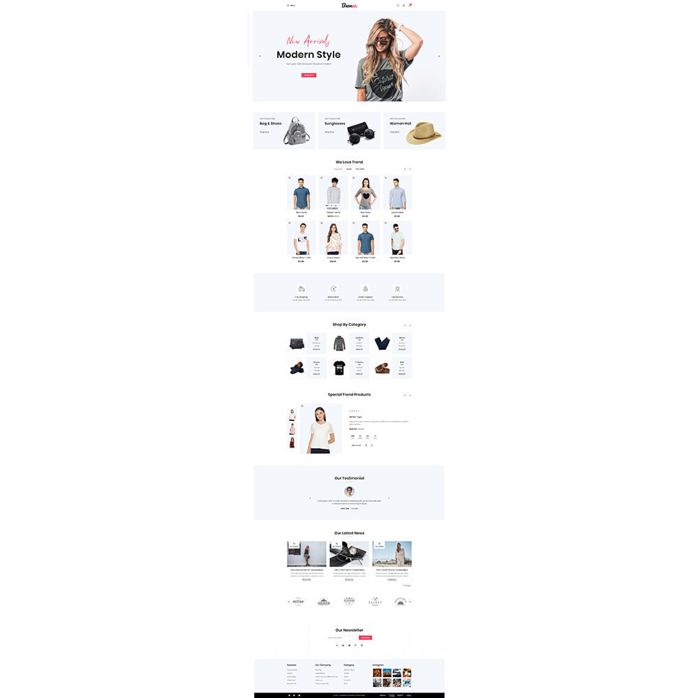 theme - Fashion & Shoes - Beonza Fashion Store - 2