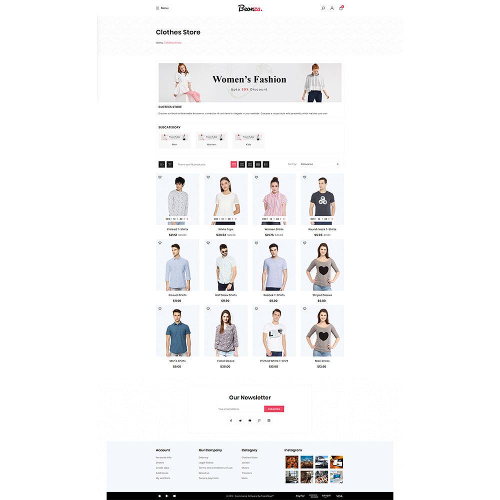 theme - Fashion & Shoes - Beonza Fashion Store - 3
