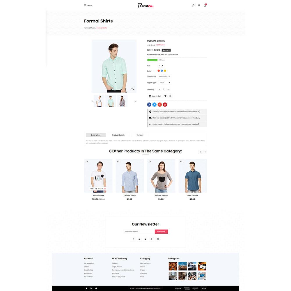 theme - Fashion & Shoes - Beonza Fashion Store - 4