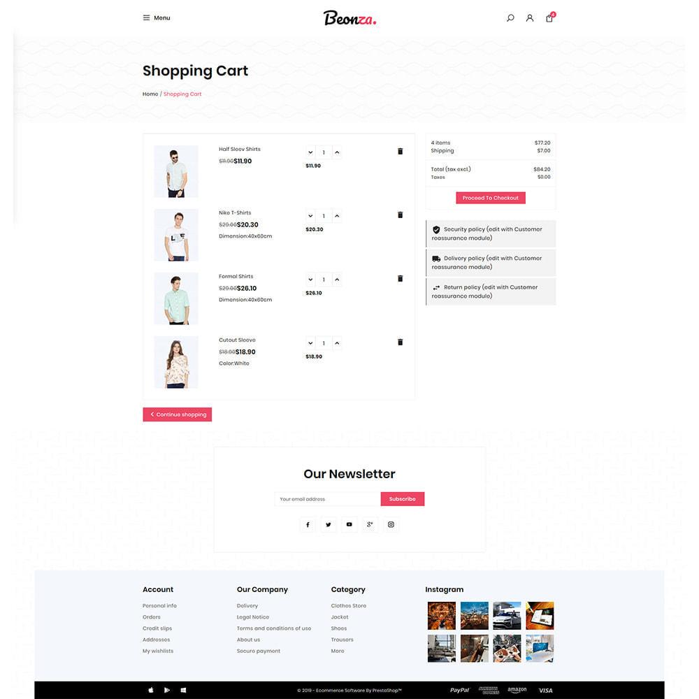 theme - Fashion & Shoes - Beonza Fashion Store - 5