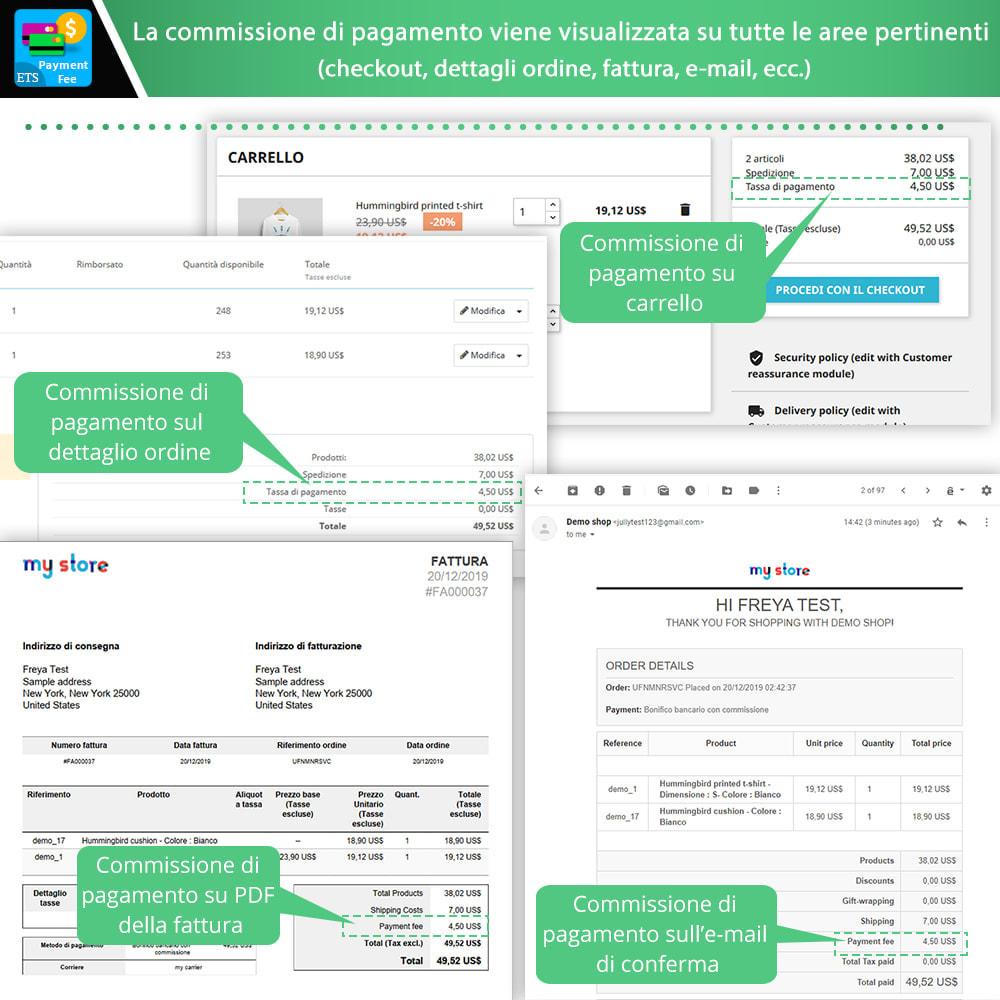 module - Altri Metodi di Pagamento - Payment With Fee: COD, Paypal, Stripe, bonifico, ecc. - 5