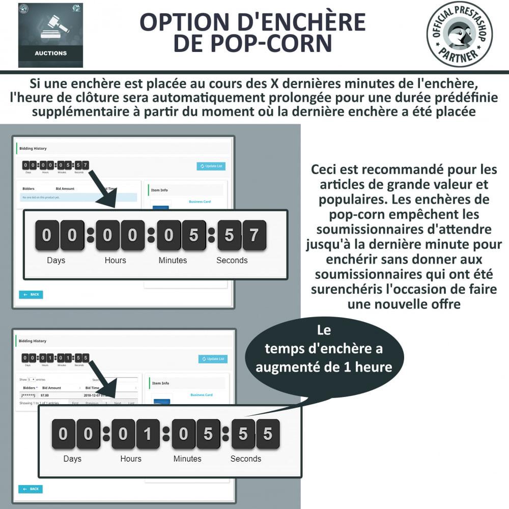 module - Site d'enchères - Enchères Pro - Système d'enchères en ligne - 8
