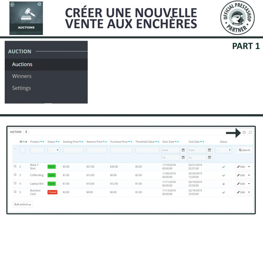 module - Site d'enchères - Enchères Pro - Système d'enchères en ligne - 9