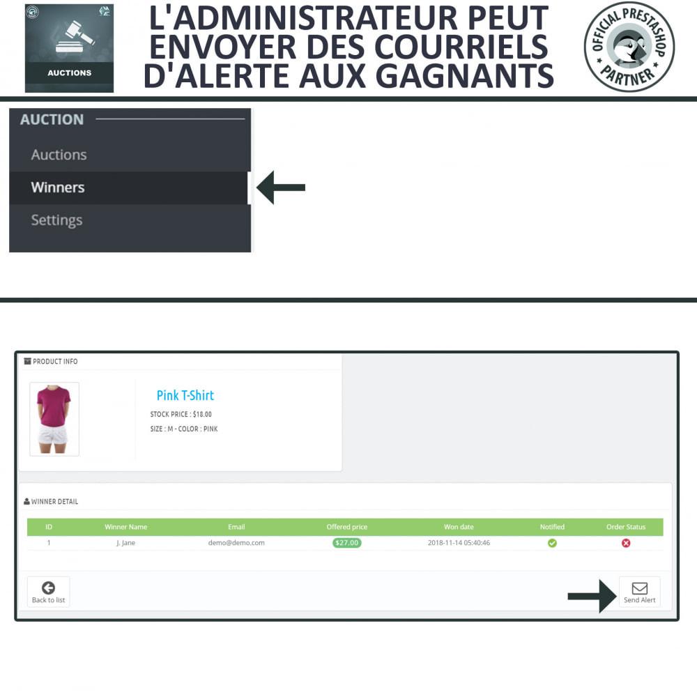 module - Site d'enchères - Enchères Pro - Système d'enchères en ligne - 15