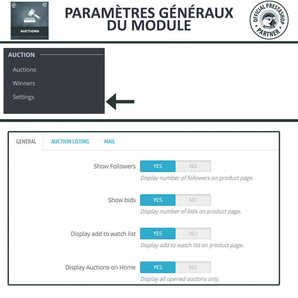 module - Site d'enchères - Enchères Pro - Système d'enchères en ligne - 16