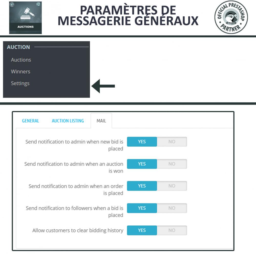 module - Site d'enchères - Enchères Pro - Système d'enchères en ligne - 19