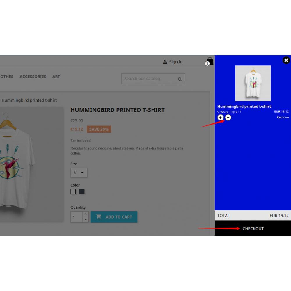 module - Personalizacja strony - Vertical Side Cart - 3