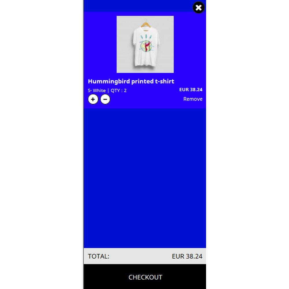 module - Personalizacja strony - Vertical Side Cart - 4