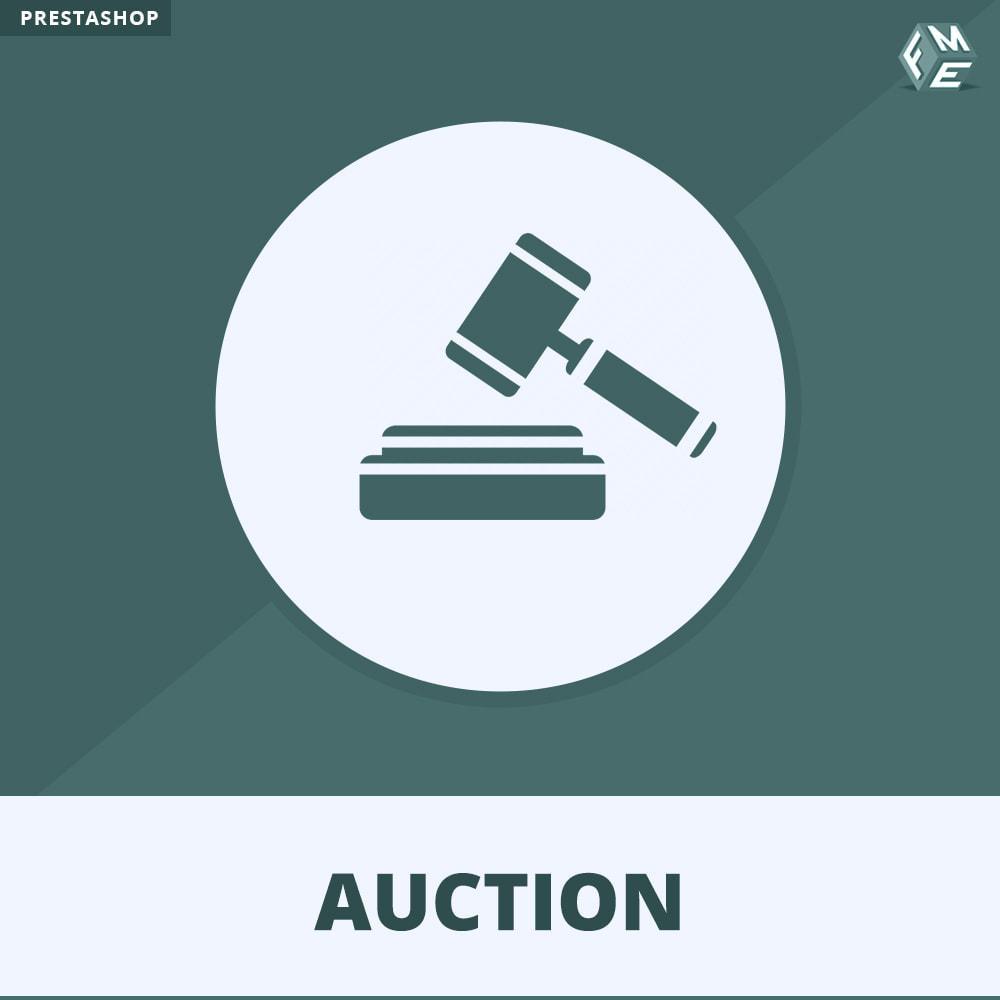 module - Auktionsseiten - Auktion Pro, Online-Auktions und Gebotsmanagement - 1