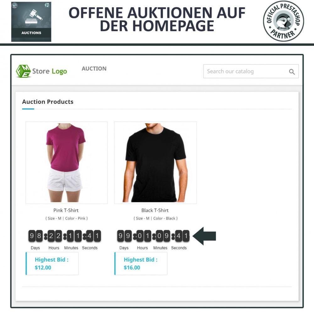 module - Auktionsseiten - Auktion Pro, Online-Auktions und Gebotsmanagement - 2