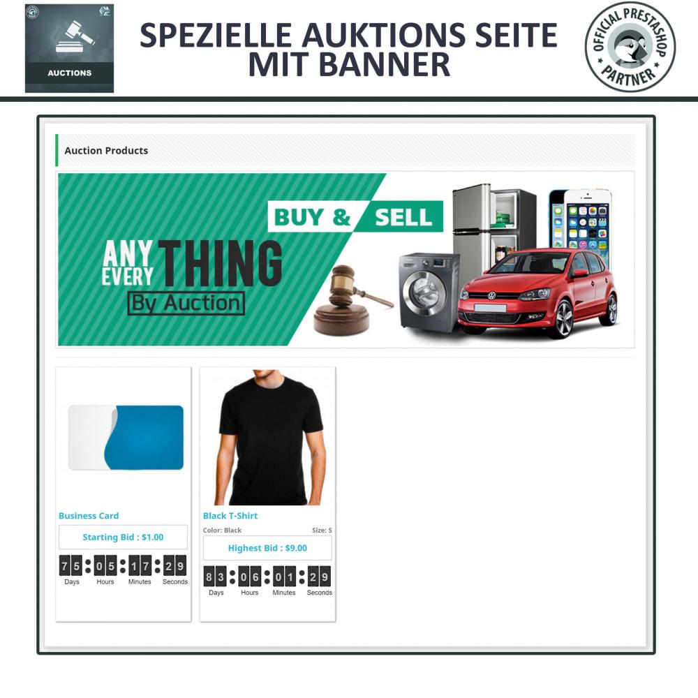 module - Auktionsseiten - Auktion Pro, Online-Auktions und Gebotsmanagement - 3