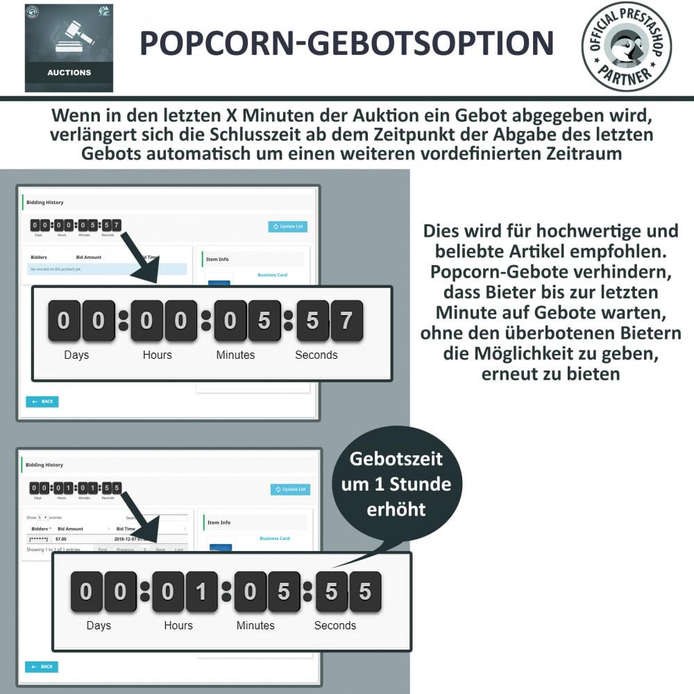 module - Auktionsseiten - Auktion Pro, Online-Auktions und Gebotsmanagement - 8