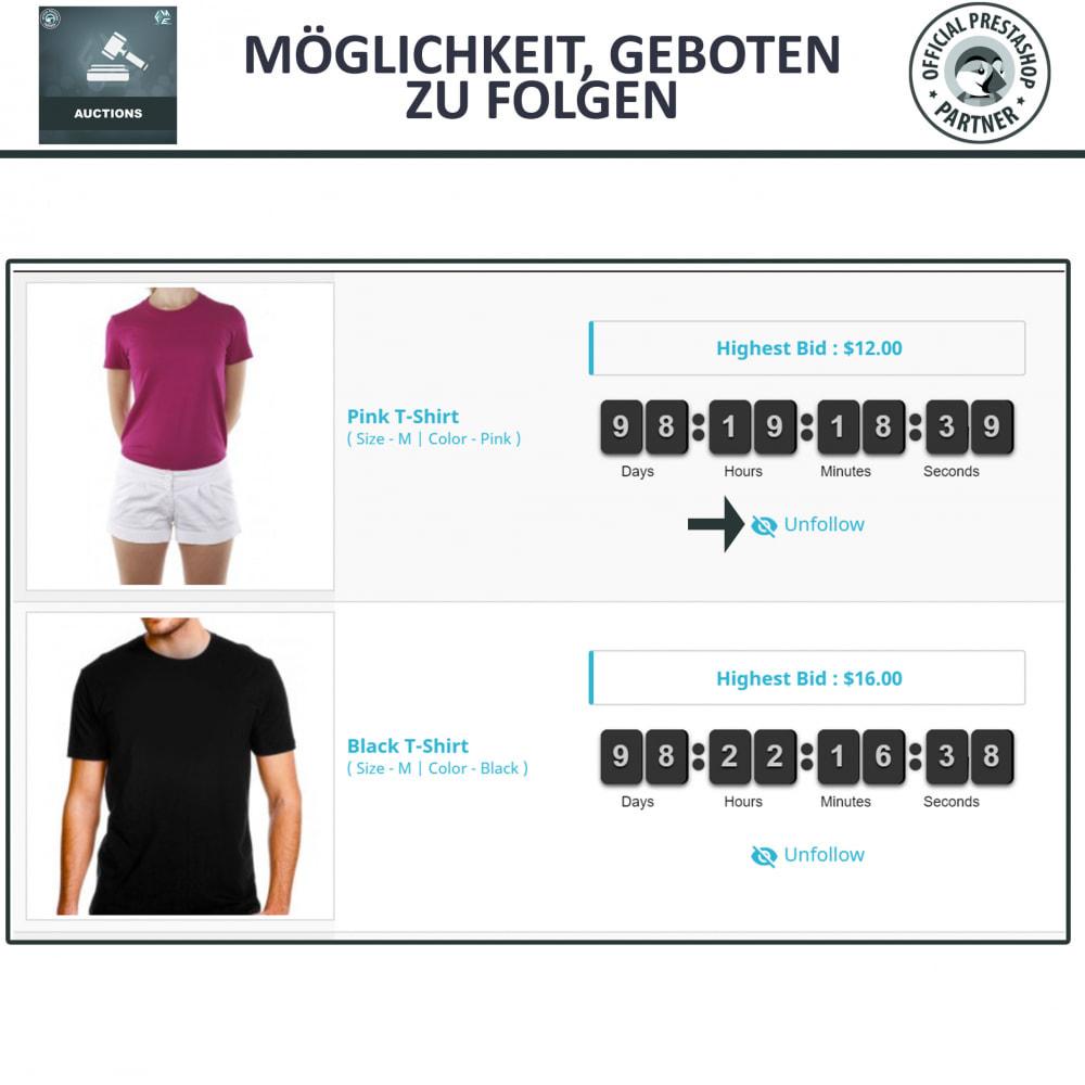 module - Auktionsseiten - Auktion Pro, Online-Auktions und Gebotsmanagement - 5