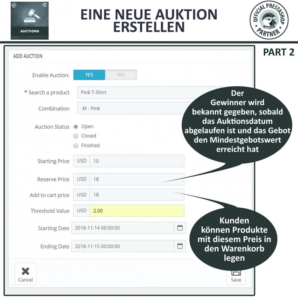 module - Auktionsseiten - Auktion Pro, Online-Auktions und Gebotsmanagement - 10