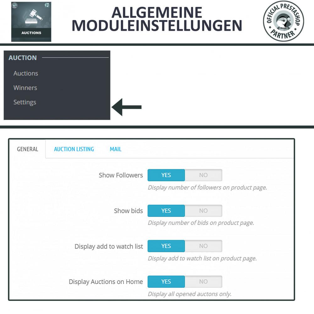 module - Auktionsseiten - Auktion Pro, Online-Auktions und Gebotsmanagement - 16