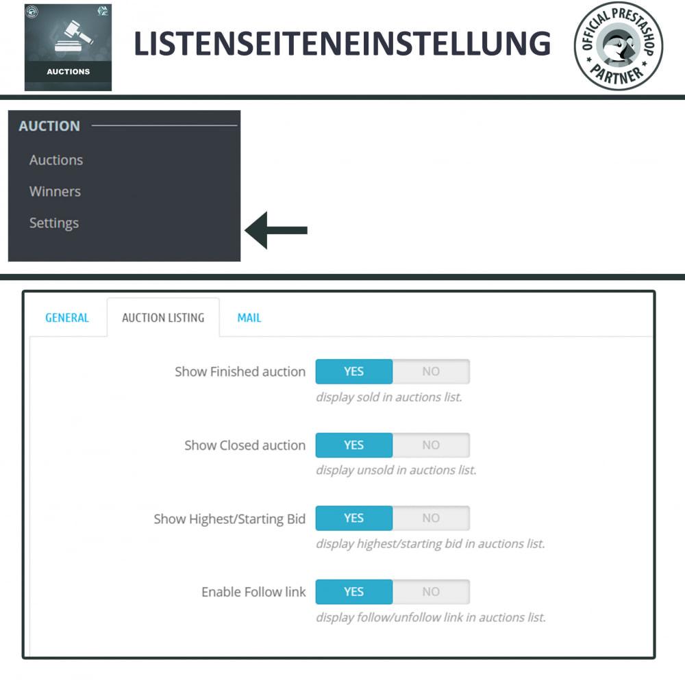 module - Auktionsseiten - Auktion Pro, Online-Auktions und Gebotsmanagement - 18