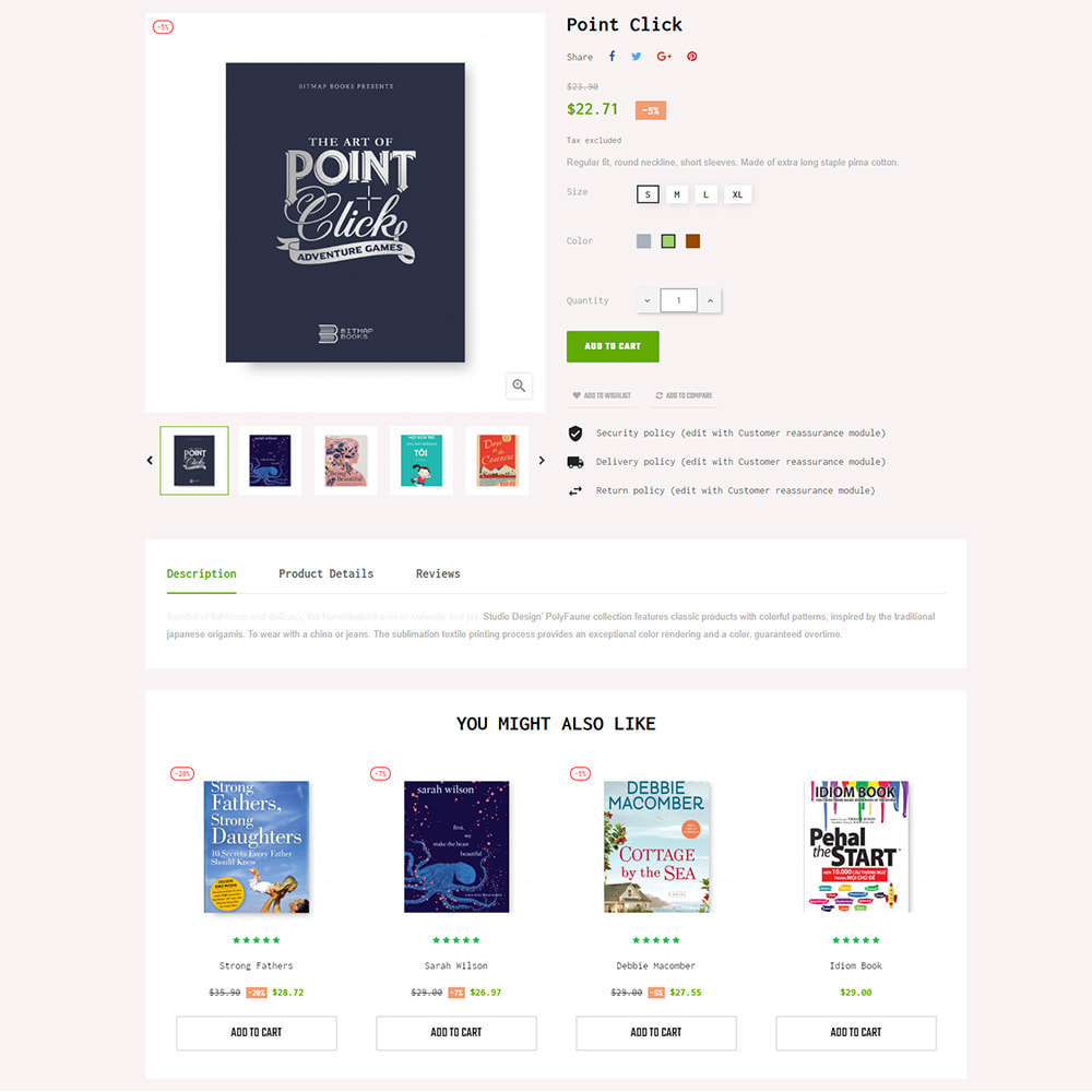 theme - Art & Culture - BookStore - Grocery store - 5