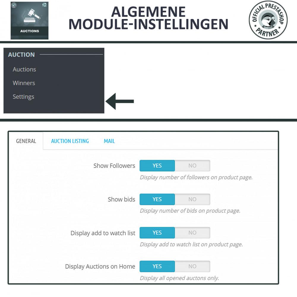 module - Bouw een veilingsite - Auction Pro, Online veilingen en biedingen - 16