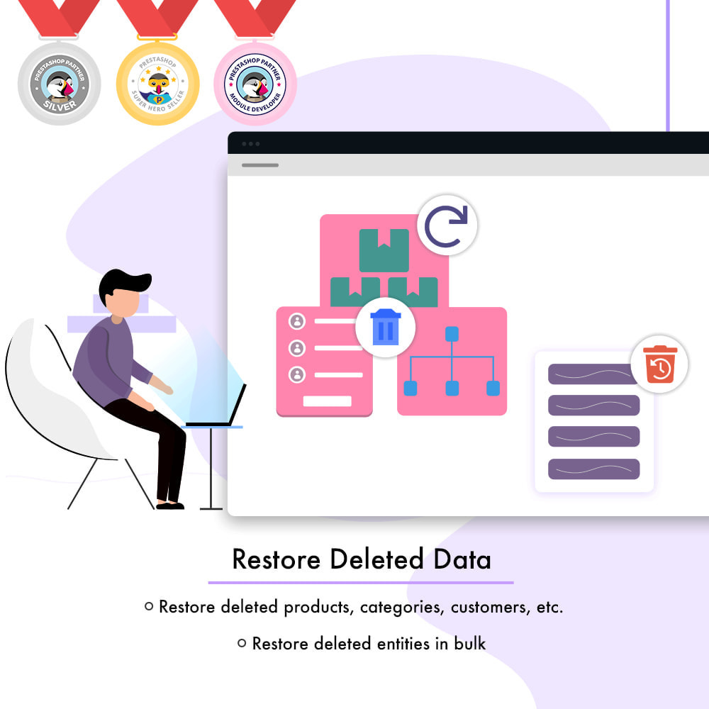 module - Migracja & Backup - Restore Deleted Data - Products, Categories and More - 1