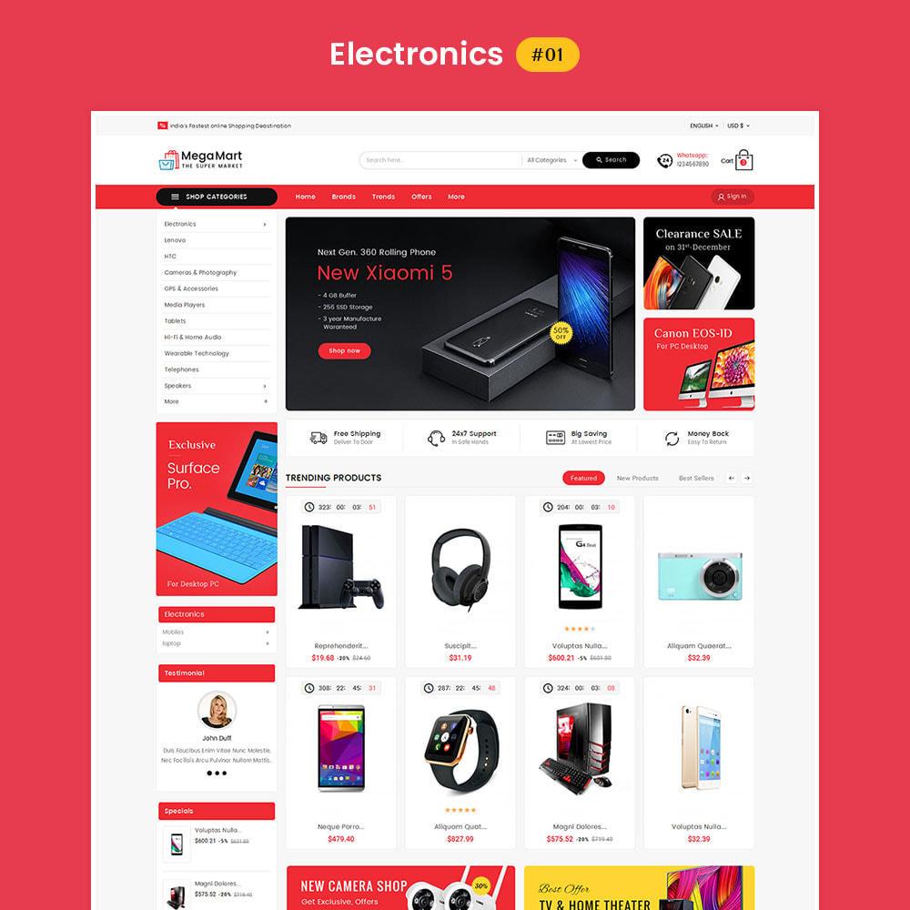 theme - Electrónica e High Tech - Mega Mart - Multi-Purpose Store - 2