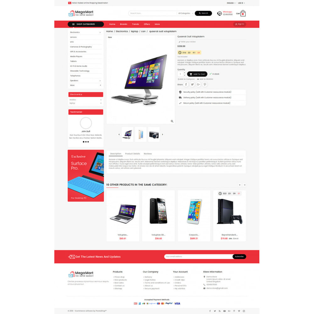 theme - Electrónica e High Tech - Mega Mart - Multi-Purpose Store - 18