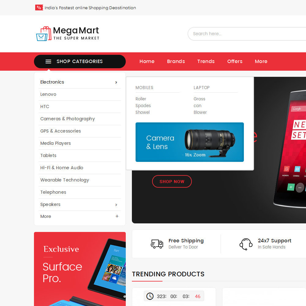theme - Electrónica e High Tech - Mega Mart - Multi-Purpose Store - 22