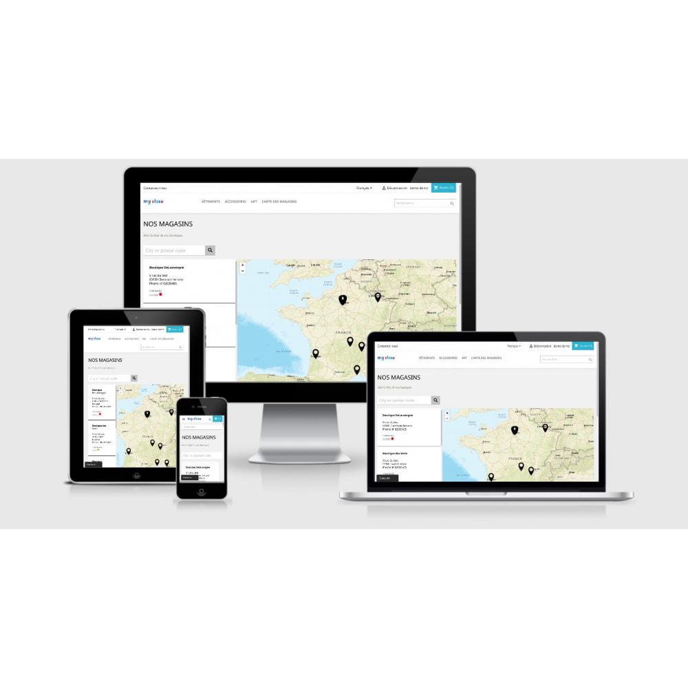 module - Punto di raccolta & Ritiro in negozio - Pro Store locator SEO (free no Google Maps) - 4
