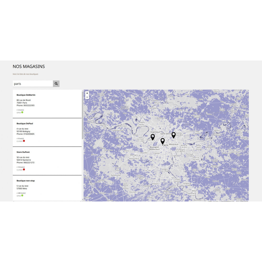 module - Punto di raccolta & Ritiro in negozio - Pro Store locator SEO (free no Google Maps) - 5