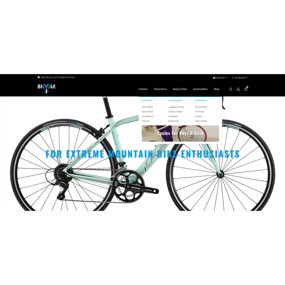 theme - Automotive & Cars - Bicycle Store - 6