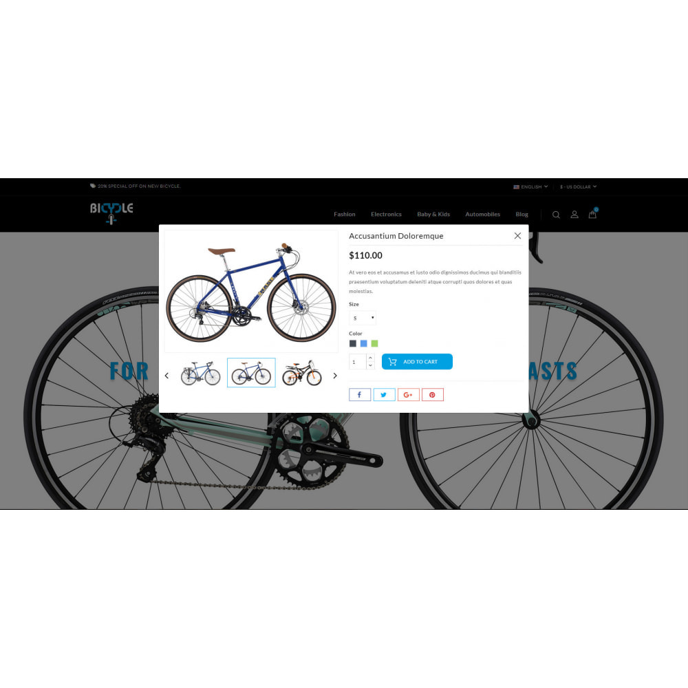 theme - Automotive & Cars - Bicycle Store - 7