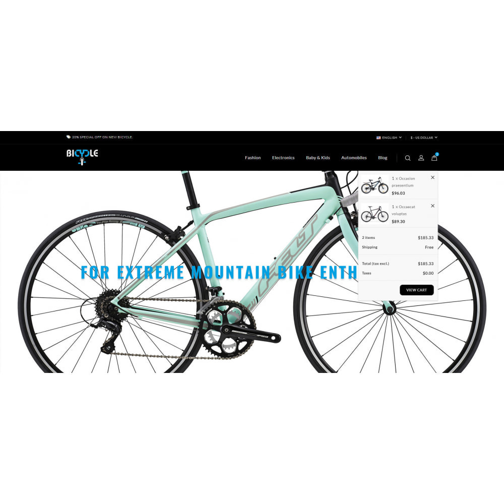 theme - Automotive & Cars - Bicycle Store - 8