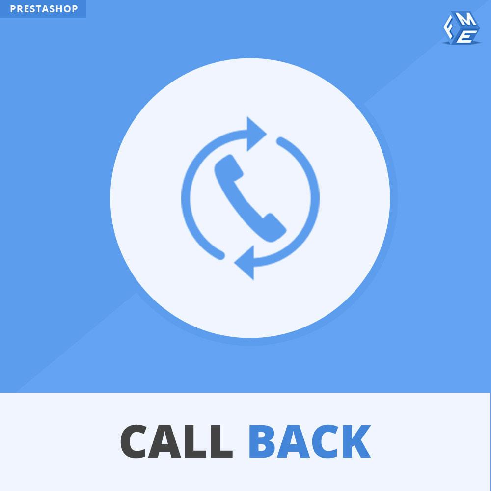 module - Поддержка и онлайн-чат - Call Back - Fixed & Floating Call Back Form - 1