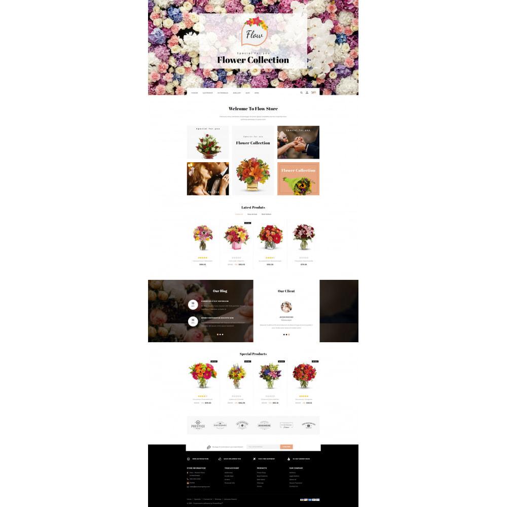 theme - Regali, Fiori & Feste - Flow - Flowers Store - 2