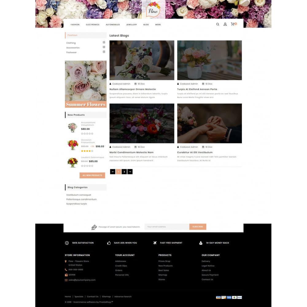 theme - Regali, Fiori & Feste - Flow - Flowers Store - 9