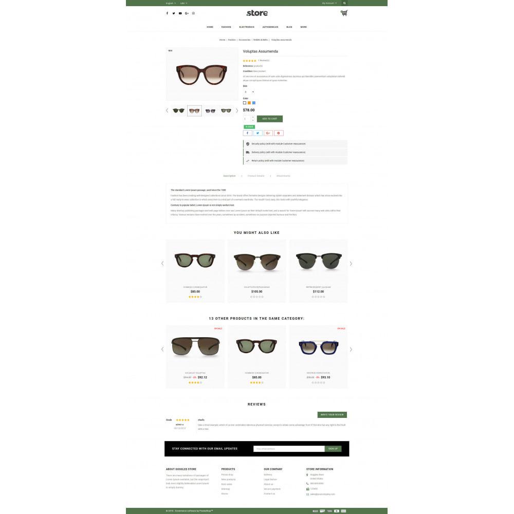 theme - Fashion & Shoes - Eye Glasses Store - 5