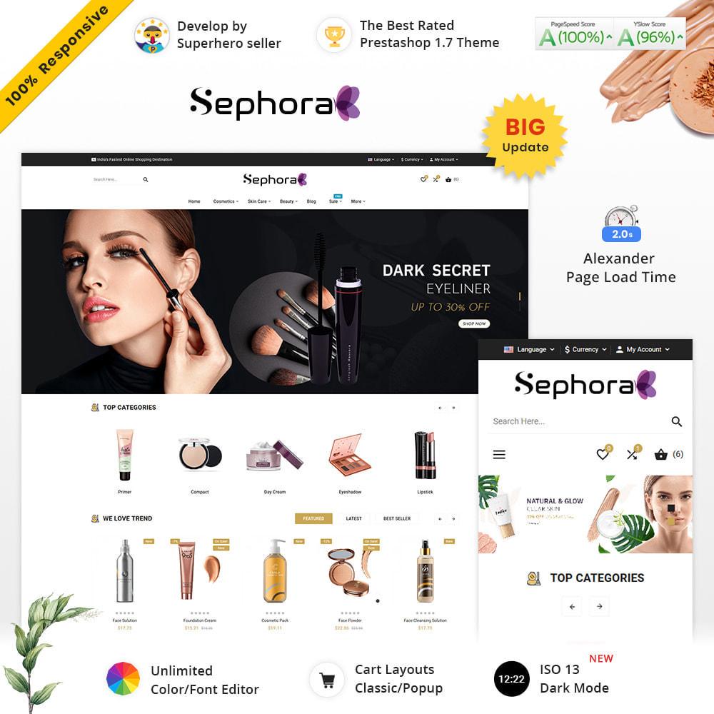 theme - Santé & Beauté - Sephora Mega Bio–Cosmetics Health–Beauty Super Store - 2