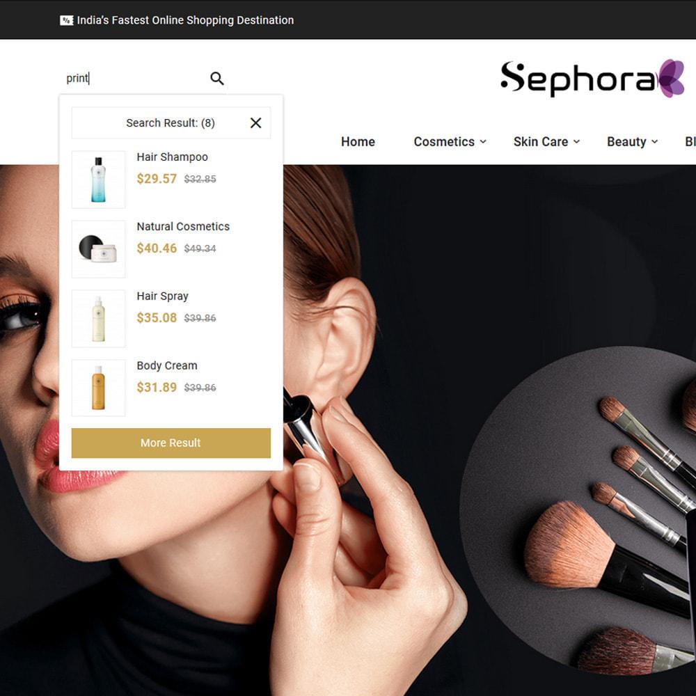 theme - Santé & Beauté - Sephora Mega Bio–Cosmetics Health–Beauty Super Store - 6