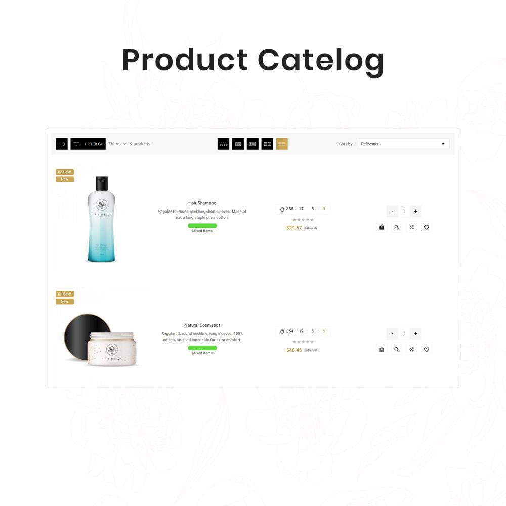 theme - Santé & Beauté - Sephora Mega Bio–Cosmetics Health–Beauty Super Store - 12