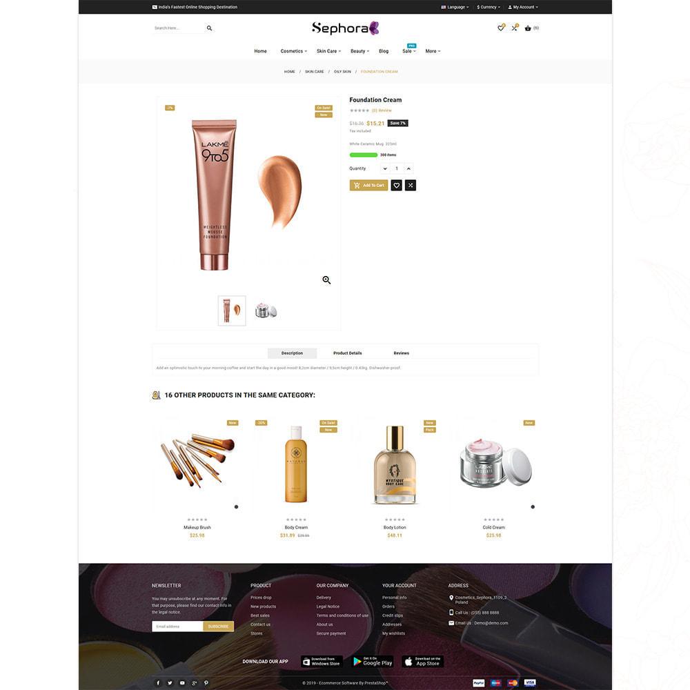 theme - Santé & Beauté - Sephora Mega Bio–Cosmetics Health–Beauty Super Store - 14