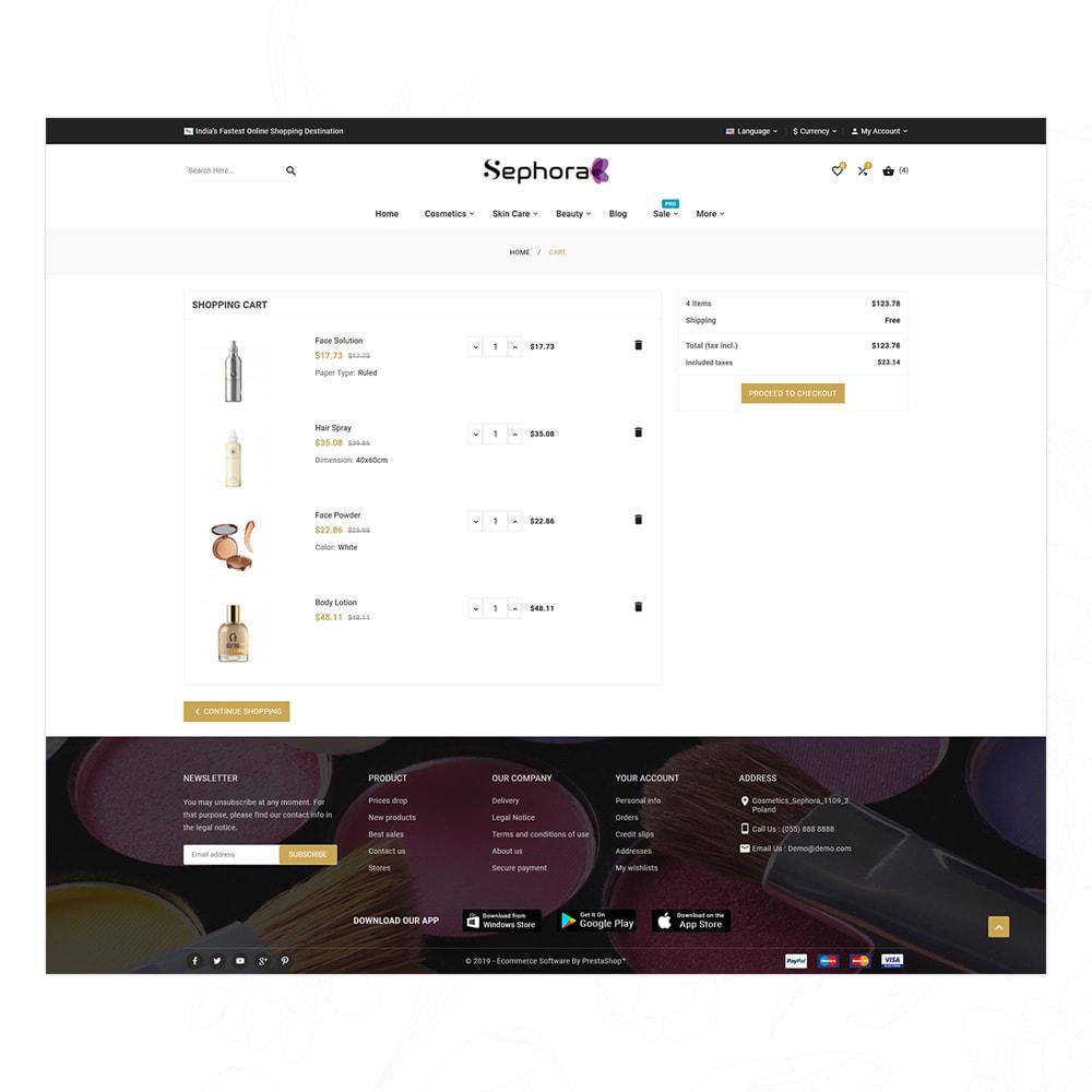 theme - Santé & Beauté - Sephora Mega Bio–Cosmetics Health–Beauty Super Store - 15