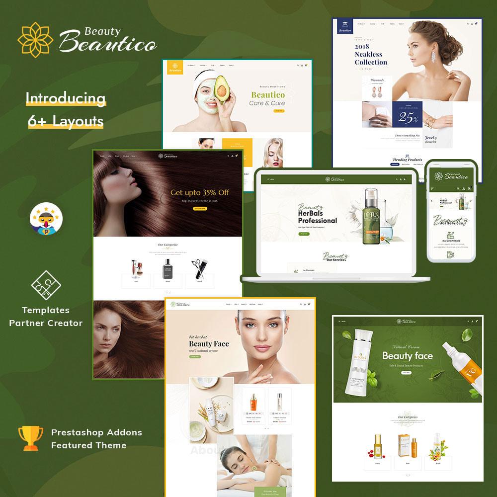 theme - Saúde & Beleza - Beautico - Beauty & Cosmetics - 1
