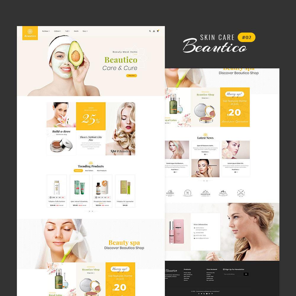 theme - Saúde & Beleza - Beautico - Beauty & Cosmetics - 3
