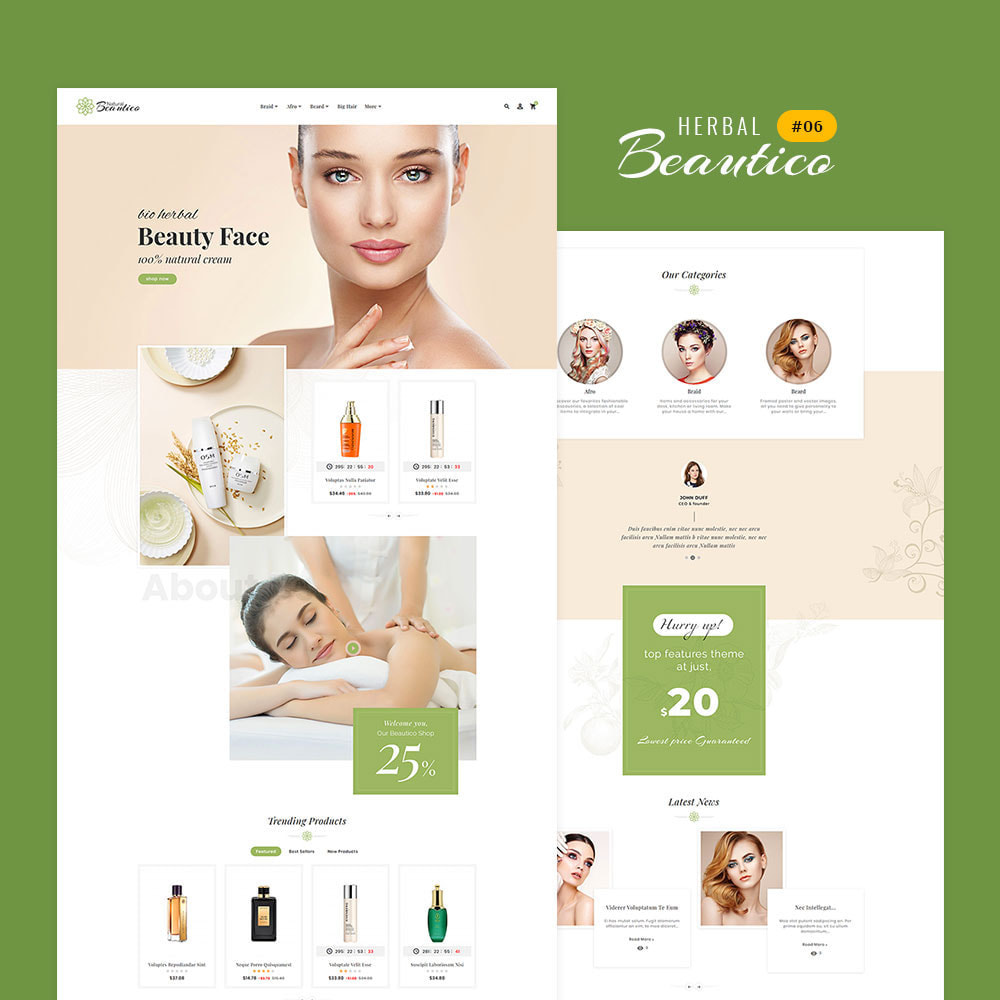 theme - Saúde & Beleza - Beautico - Beauty & Cosmetics - 7