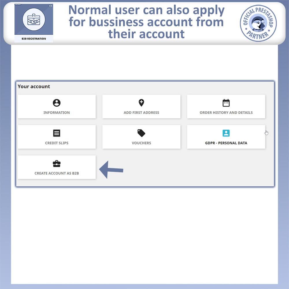 module - Registration & Ordering Process - B2B Registration | Advance B2B Registration - 7