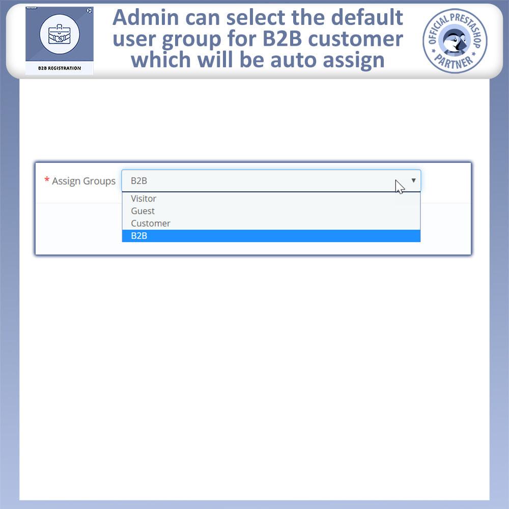 module - Registration & Ordering Process - B2B Registration | Advance B2B Registration - 11