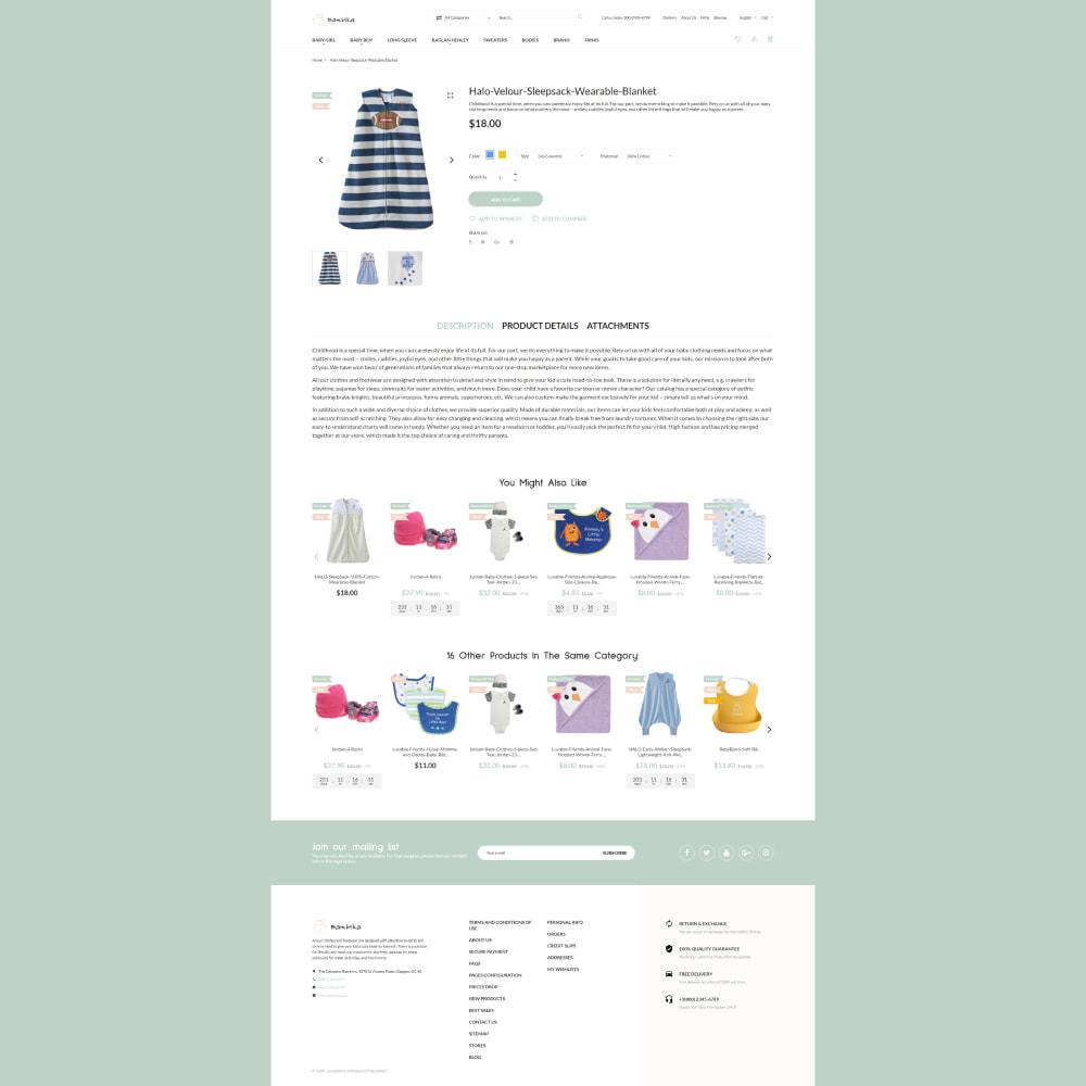 theme - Kinder & Spielzeug - Bambika - Kids' Apparel Store - 4
