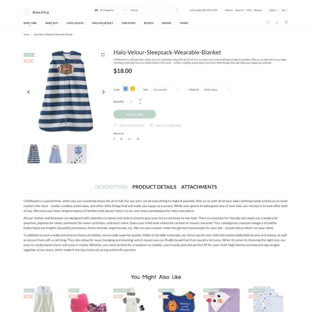 theme - Kinder & Spielzeug - Bambika - Kids' Apparel Store - 5