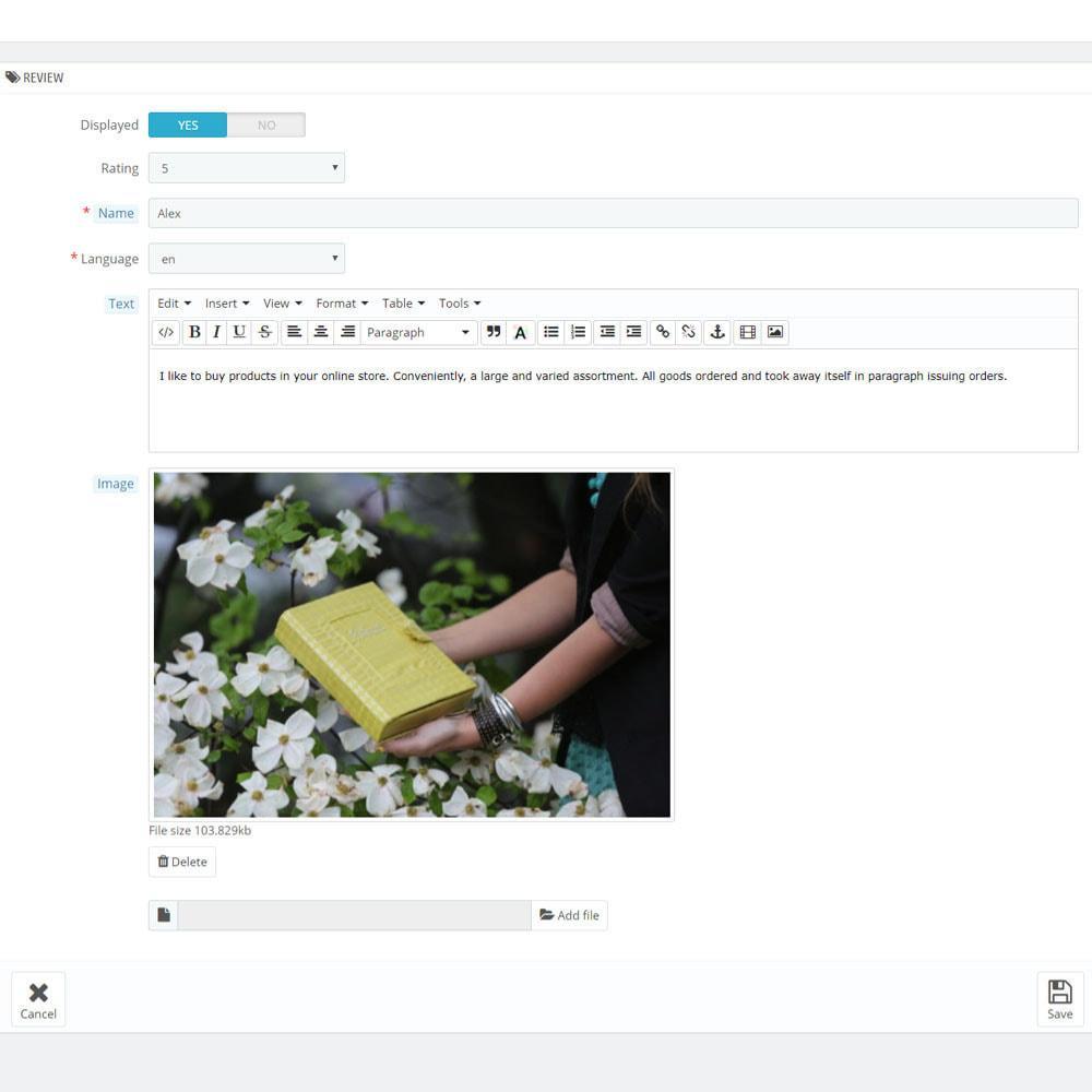 module - Opinie klientów - Recenzje na temat Twojego sklepu / produktu - 10