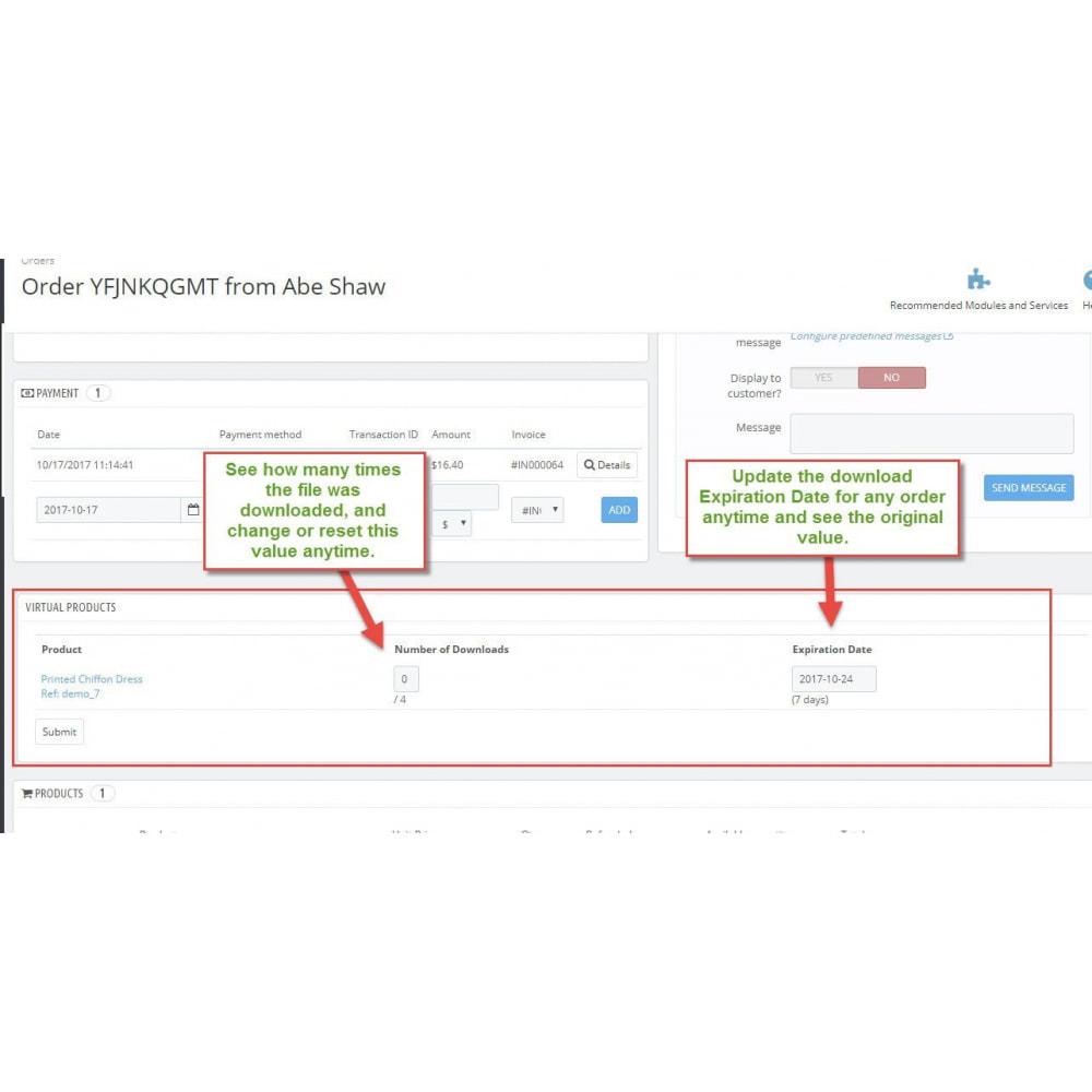 module - Wirtualne produkty - Batch Downloadable Product - 2